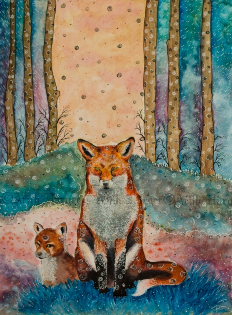 Daydreaming Fox -  By: Arith Härger