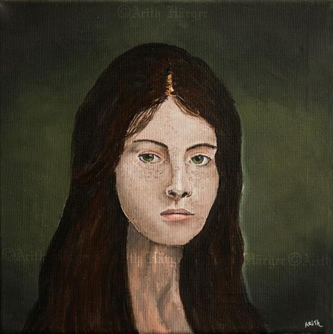 Nanna - Acrylic on canvas 30x30 - 2014 By: Arith Härger